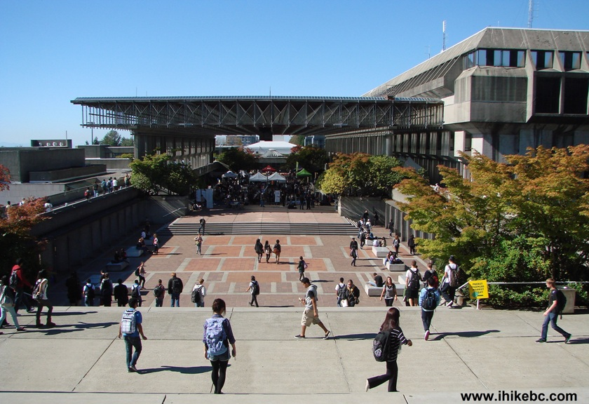 how to get to sfu burnaby from surrey