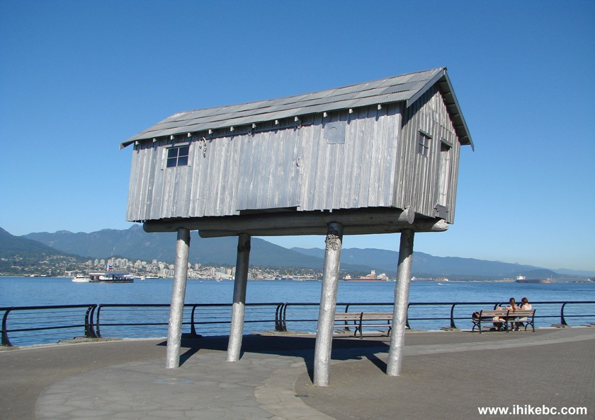 Vancouver seawall visit denman street to canada place for House piles