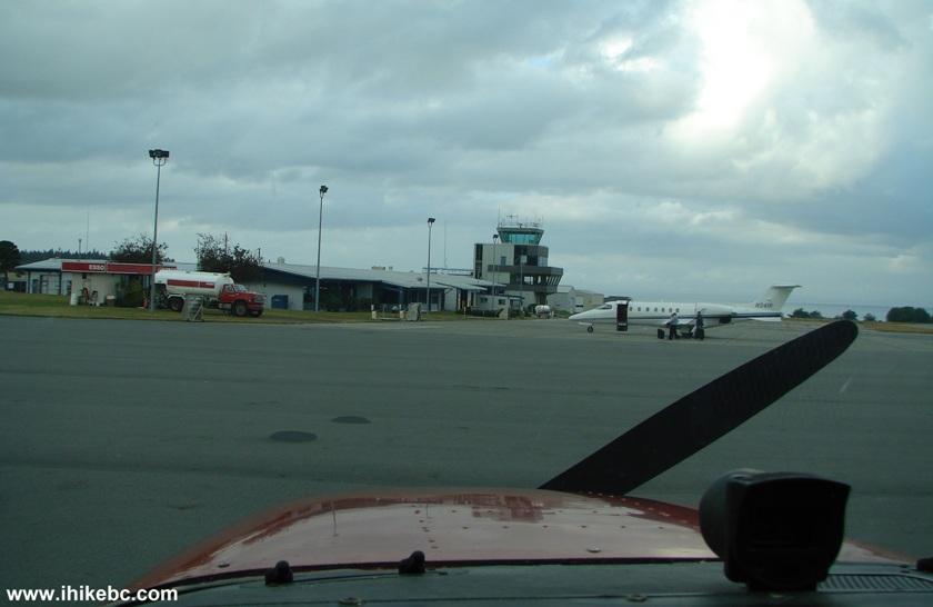 Flight From Boundary Bay Czbb To Port Hardy Cyzt In